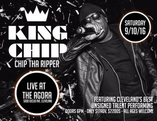 King Chip Live at The Agora (9/10/16)
