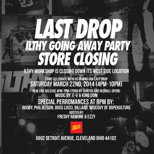 ILTHY Going Away Party This Saturday