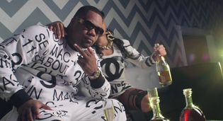 Ray Jr. - Cristal and Rolexes (Video)