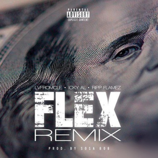Icky Al Ft. LVfromCLE & Ripp Flamez - Flex (Remix)