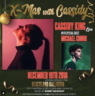 Cassidy King, Michael Conor, & Julia Thompson To Perform In Cleveland