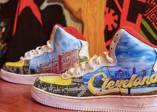 '@starbeing Shares Photos Of Dope Shoes He Designed