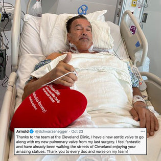 Arnold Schwarzenegger Posts Update After Surgery At The Cleveland Clinic