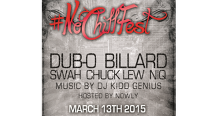 NoChillFest (March 13th) (Billard x Dubo x Swah & more.)
