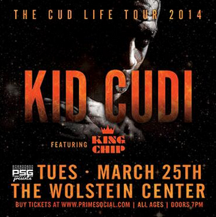 Kid Cudi x King Chip To Perform At The Wolstein Center March 25th