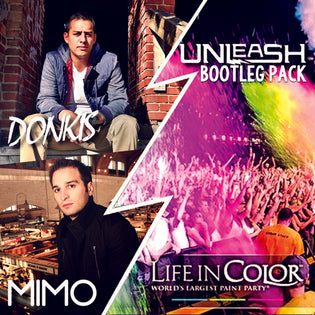 "Life In Color: ""Unleash"" Bootleg Pack (Donkis & Mimo)"