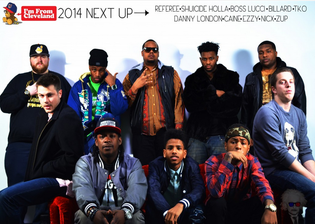 Cleveland's Next Up 2014: Group Photo