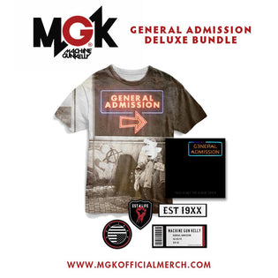 Machine Gun Kelly - General Admission Bundles