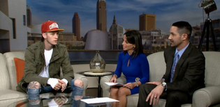 MGK Interview with WKYC on Beyond The Lights