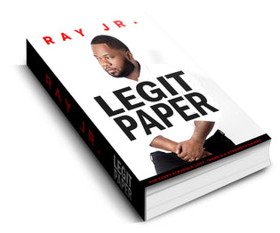"Ray Jr. ""Legit Paper"" Book Announcement"