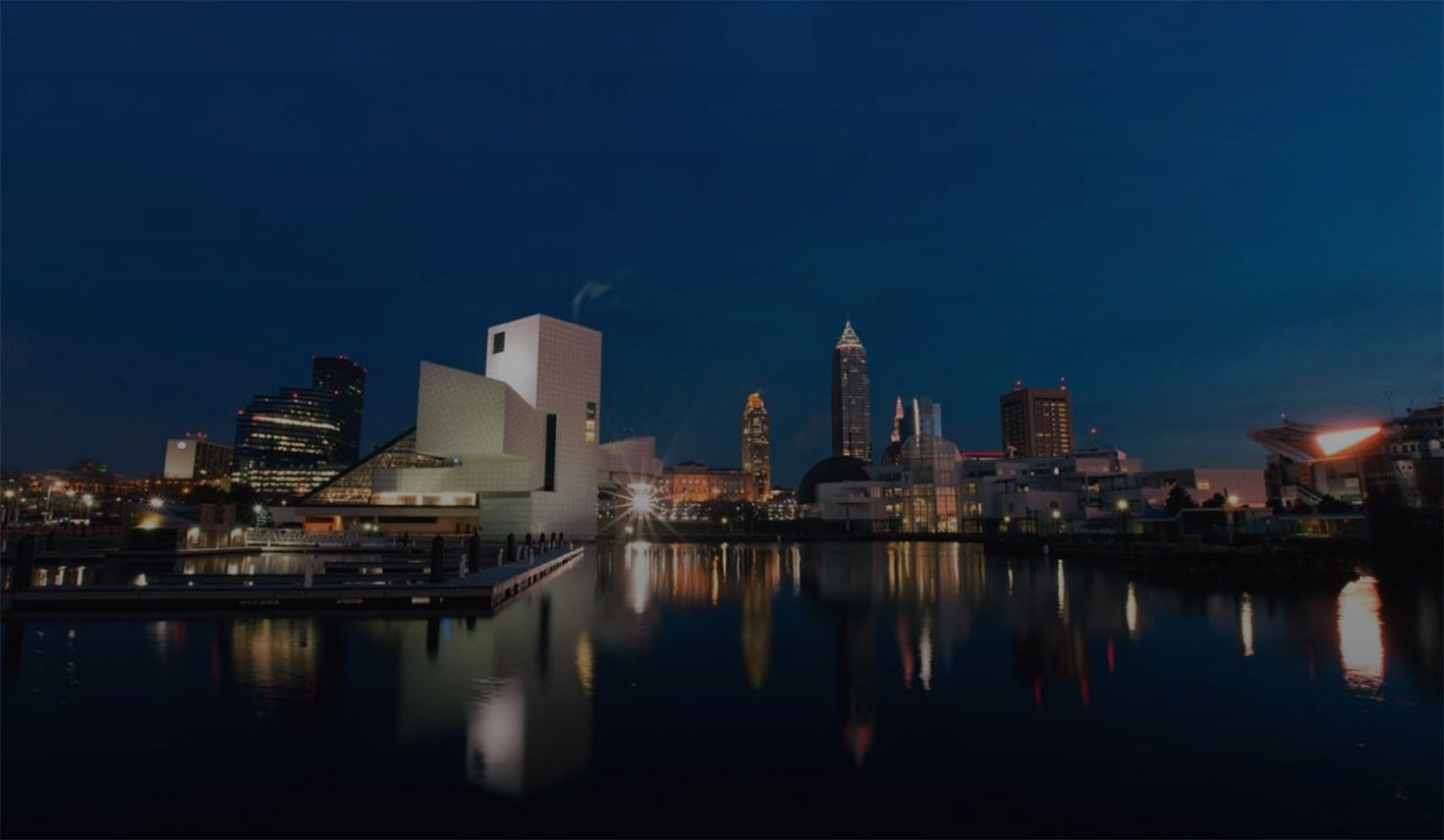 Cleveland at Night