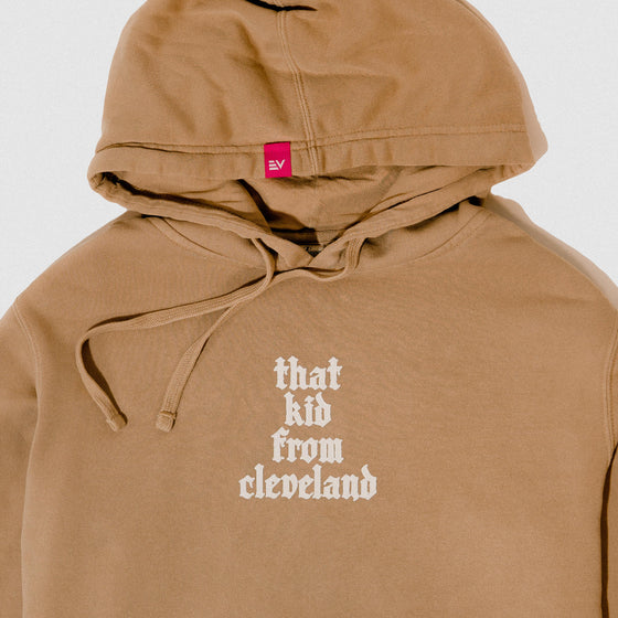 That Kid From Cleveland - Limited Edition Hoodie (Sandstone)