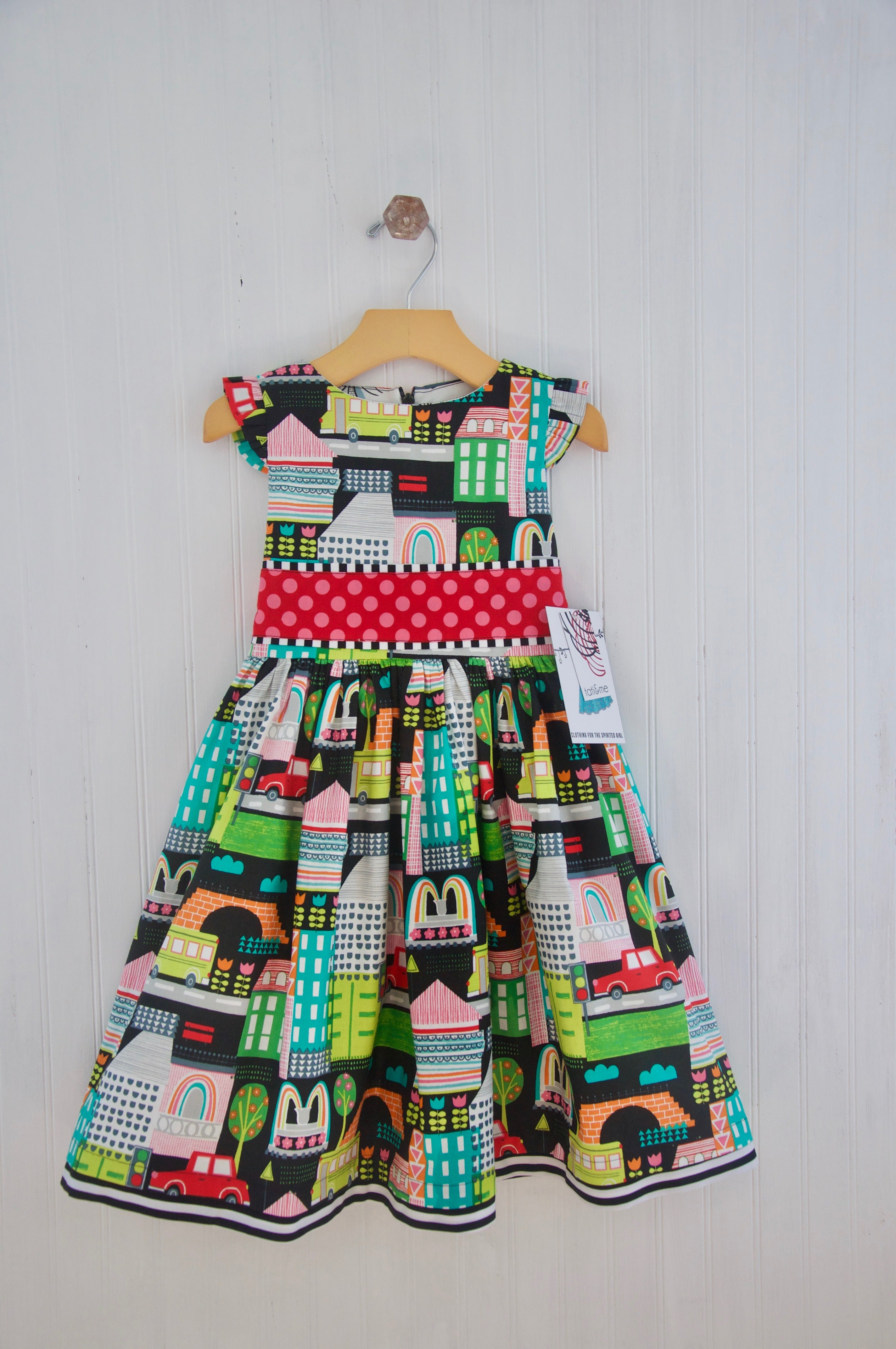 GARDEN PARTY DRESS - CITY LIFE