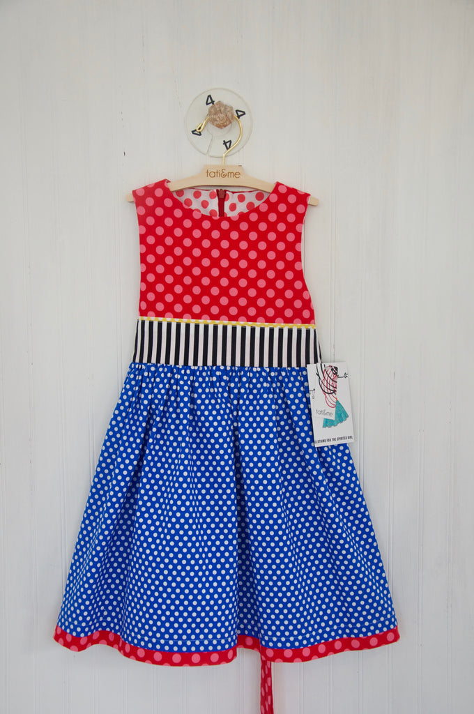 Red, White & Blue- 4 yr. old