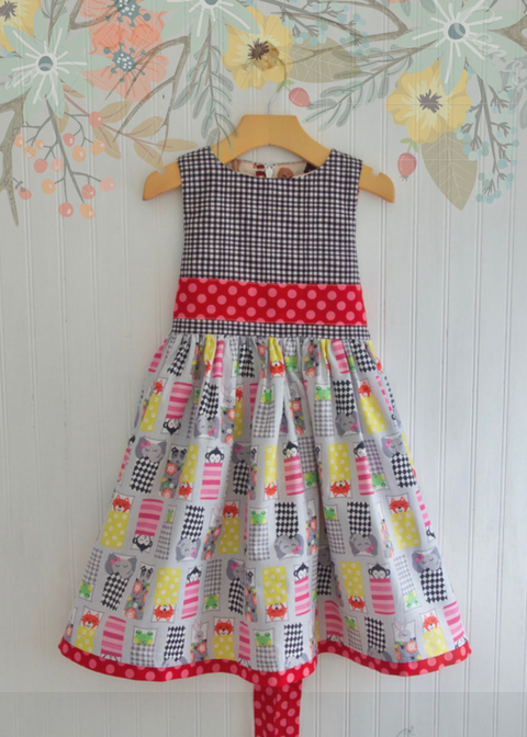 GARDEN PARTY DRESS - HAPPY CAMPERS