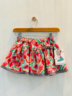 Watermelon toss skirt- 3 yr. old
