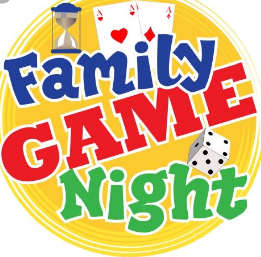 Family Game Night! January 15th 6:30pm to 8pm