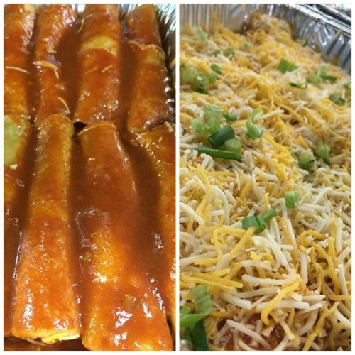 Red Cheese Enchiladas