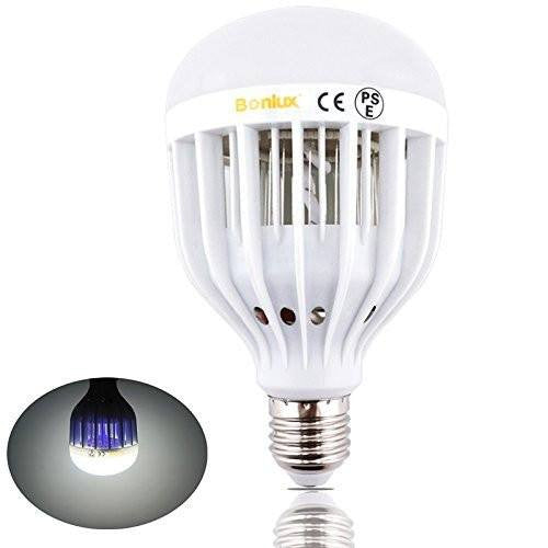 Bonlux LED Bug Zapper Light Bulb Medium Screw E26 Base 120V 10W Zap Wasp Bug  Mosquito ...