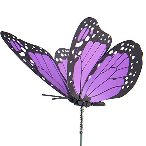 austor 26 pcs dragonfly butterfly stakes garden ornaments u0026 patio decor party supplies butterfly decorations for