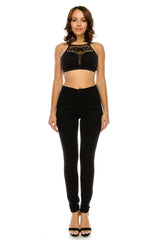 Basic High Rise Black Skinny Jeans