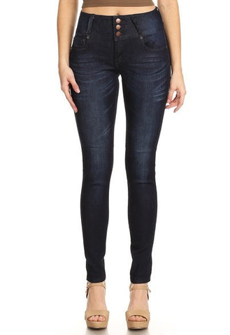 Mid Rise Classic Solid Jean