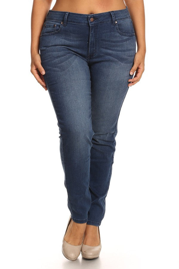 plus size jeans, plus stretchy jeans, plus skinny jeans
