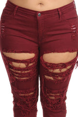 women plus size stretcy jeans