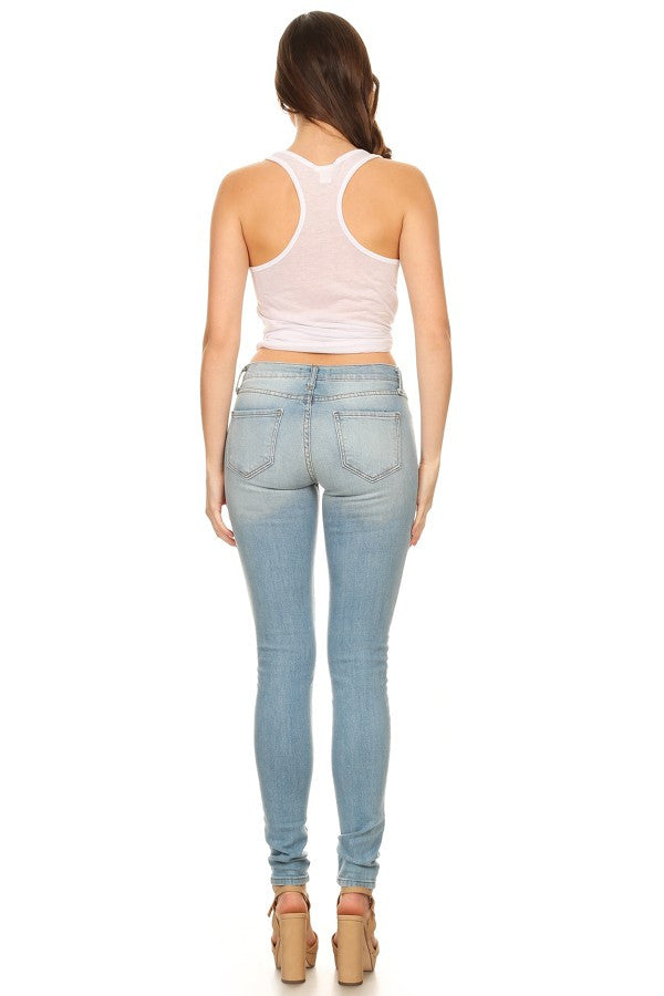 stretchy, women jeans