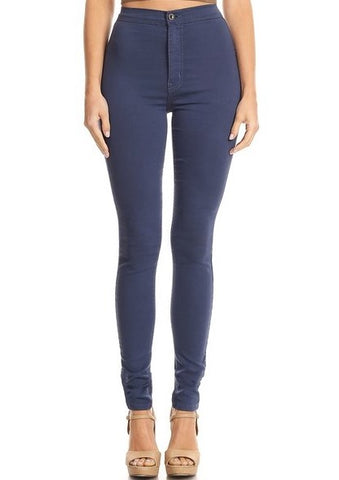 Slim fit Stretchy High Rise Jeans