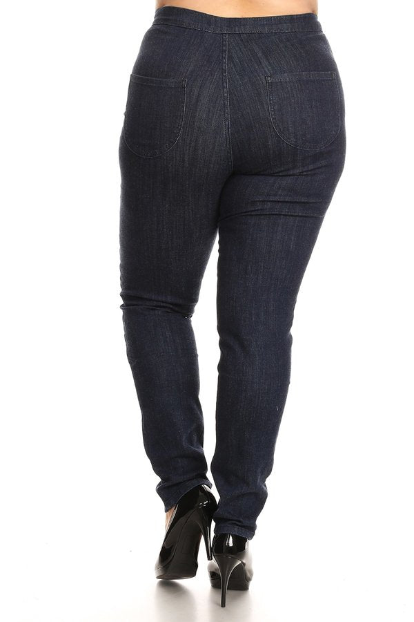 Easy Wear High Rise Skinny Jeans