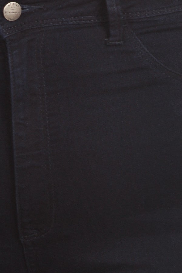 Solid High Rise Soft Skinny Indigo