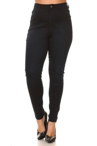 Super Comfy Basic High Rise Skinny Jeans