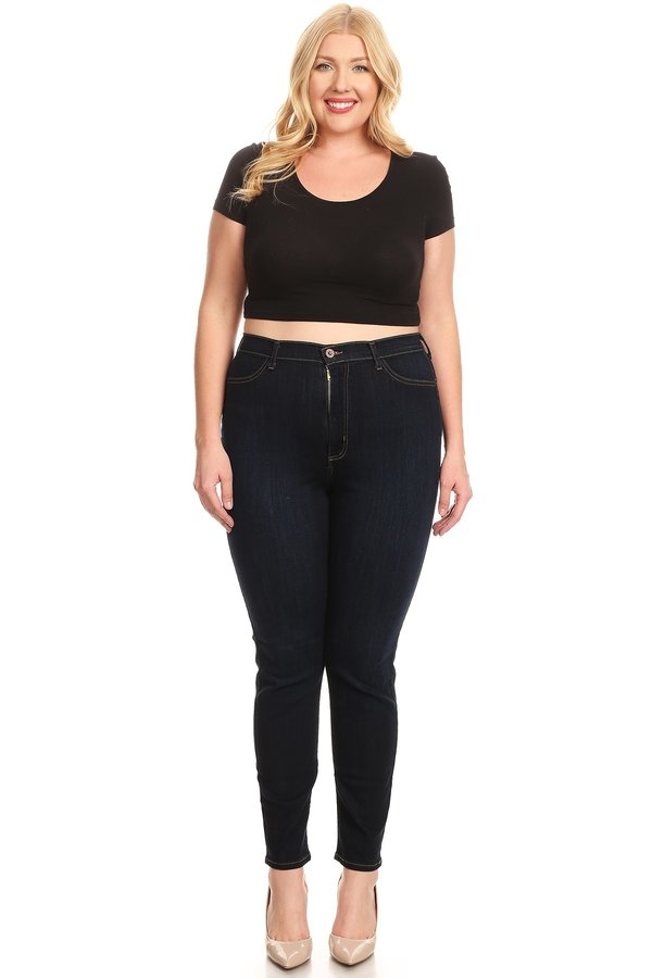 High Rise Classic Comfy Skinny Jeans