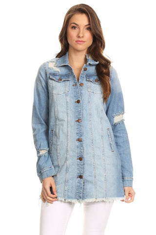 Long Sleeve Denim Jacket