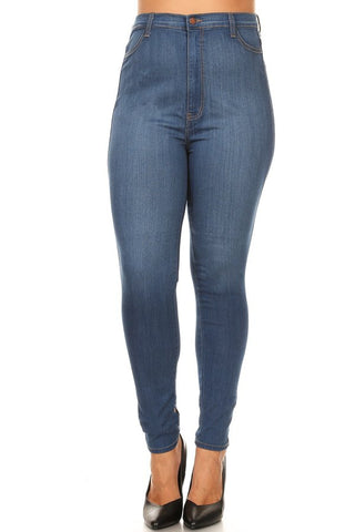 Classic High Rise Comfy Skinny Jeans