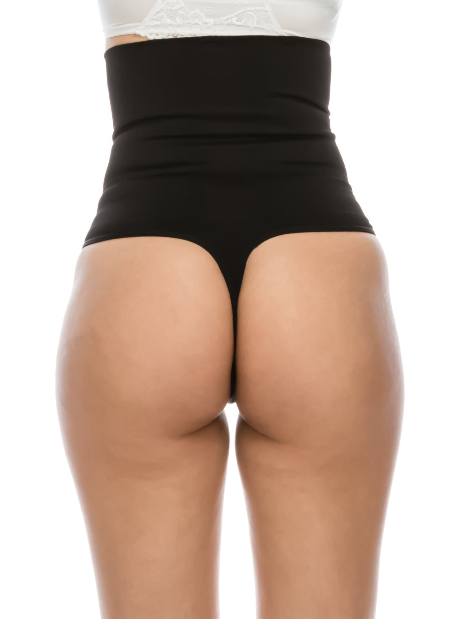 Double Layer Firm Control Shapewear Black