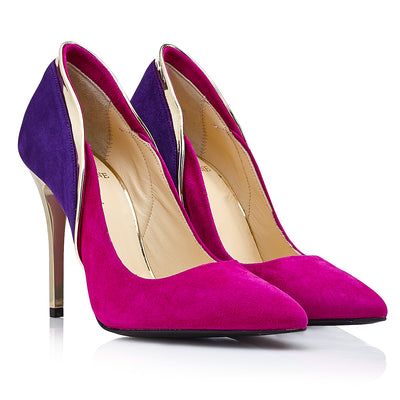 ULTRAVIOLET STILETTO (10 CM) - Just-ENE