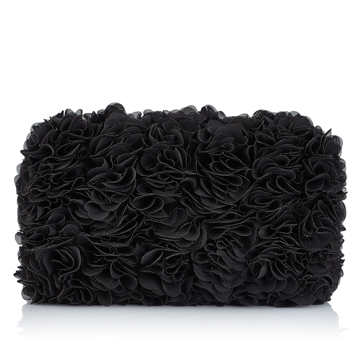 BLACK BLOOMING BABY HANDBAG - Just-ENE