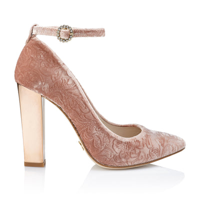 Pink Brocade (10 cm) - Just-ENE