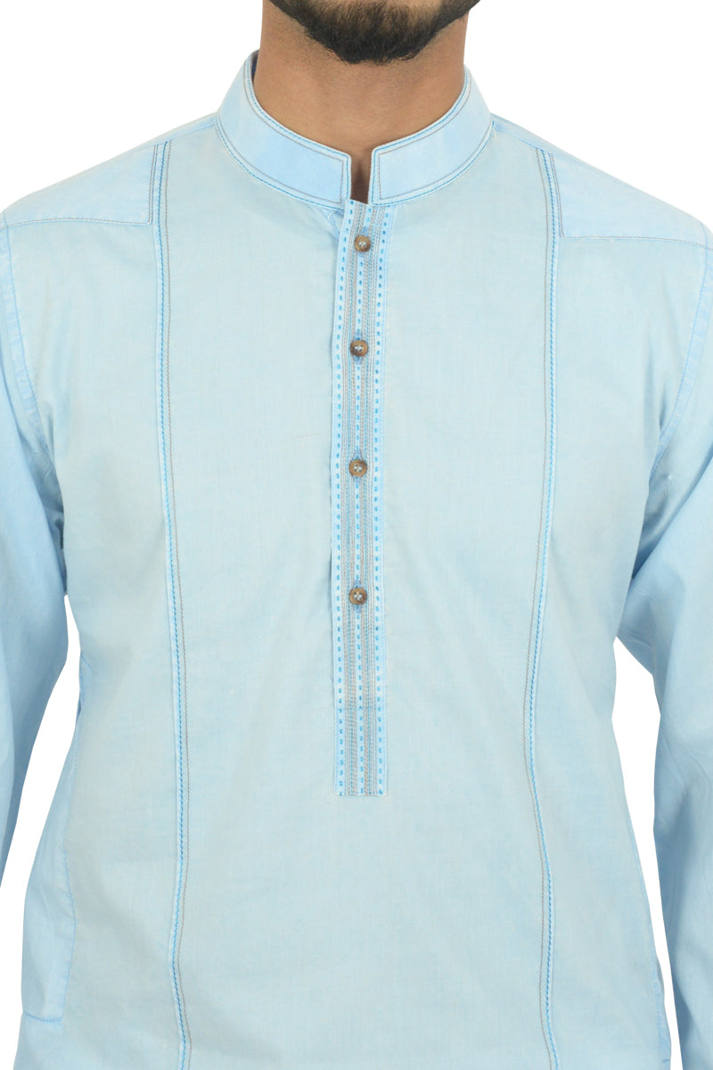 Summer Blue Kurta BDK-40503