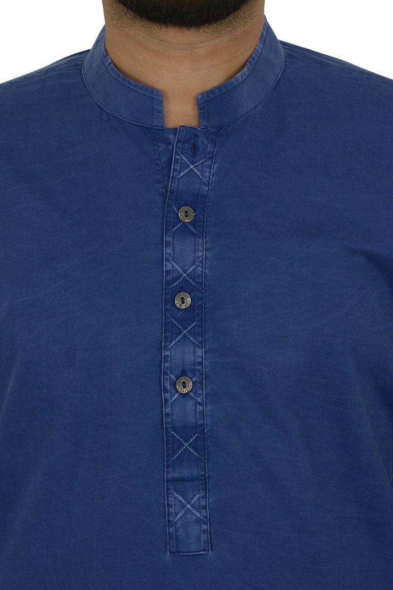 Image of Men Men Kurta in Royal Blue SKU: RDK-40108-Small-Royal Blue
