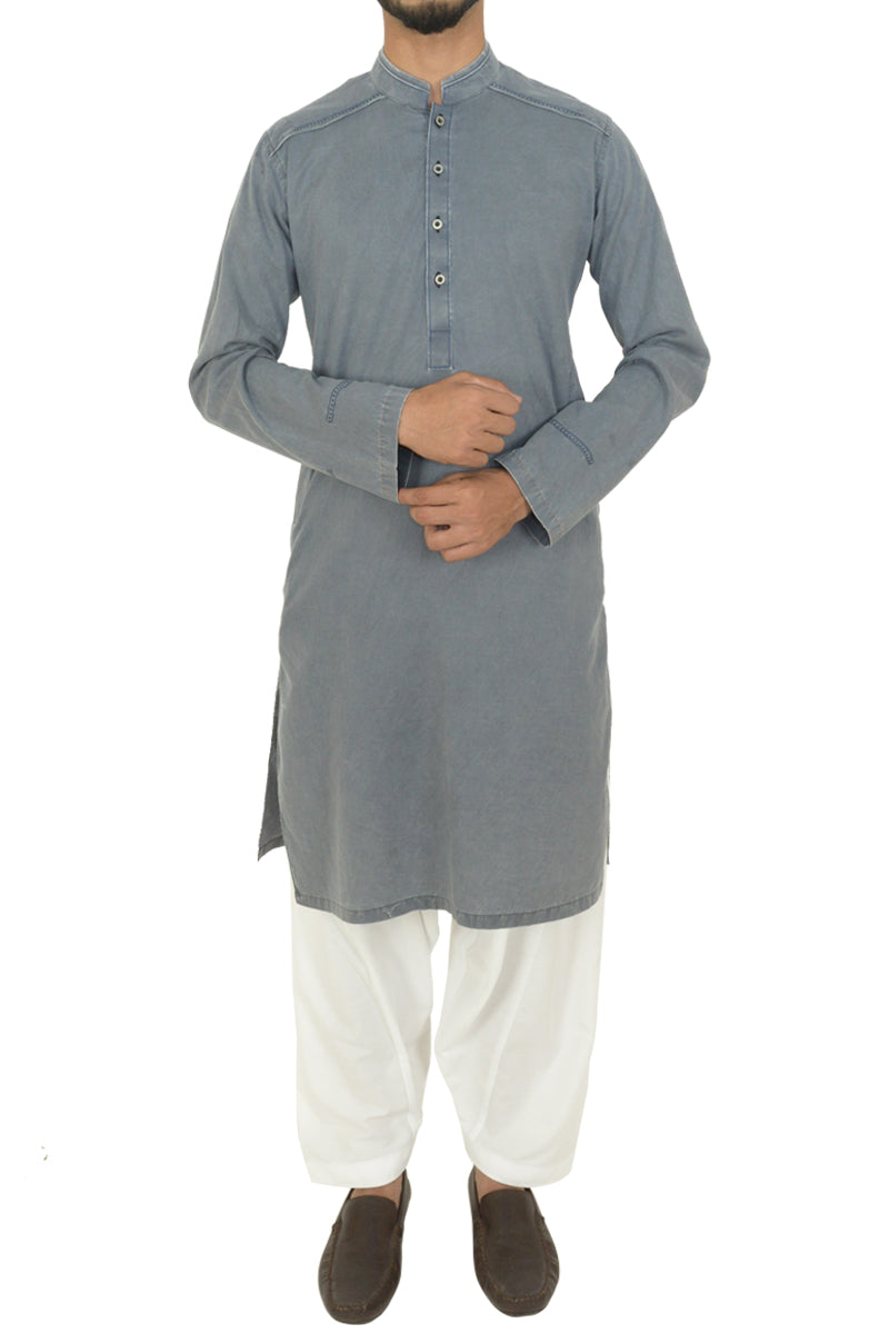 Cement Grey Kurta BDK-40505