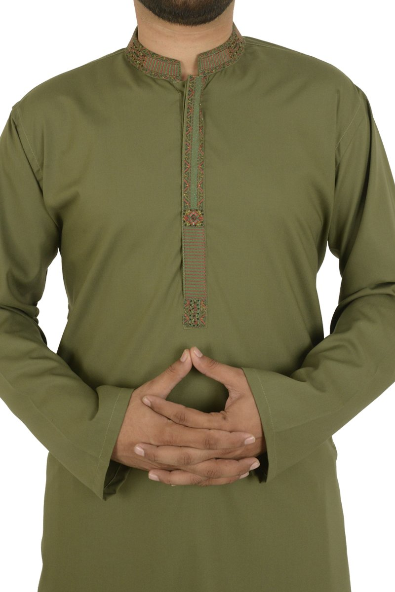 Image of   in Olive Green SKU: RQ-40202-Large-Olive Green