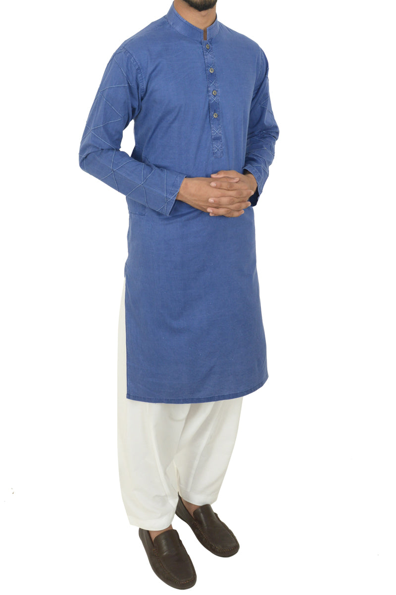 Royal Blue Kurta BDK-40507