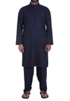 Image of Men Men Shalwar Qameez Dark Blue Shalwar Qameez Suit. RQ-39117