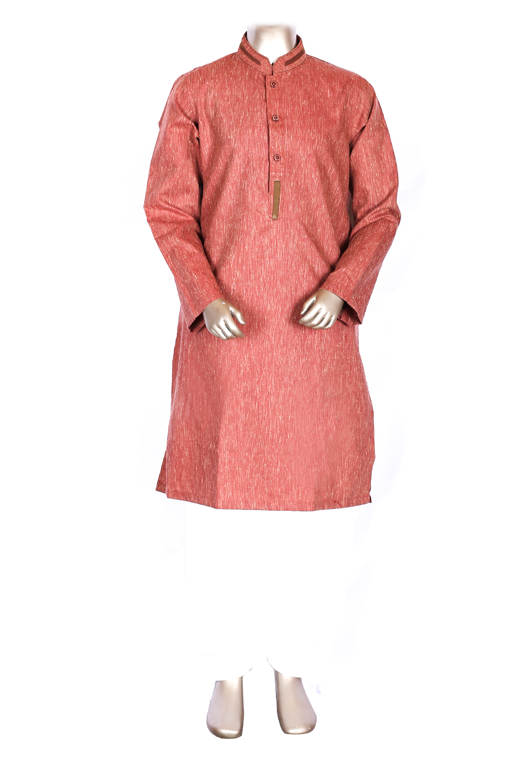 Rust Kurta Shalwar for Kids ASK-41701
