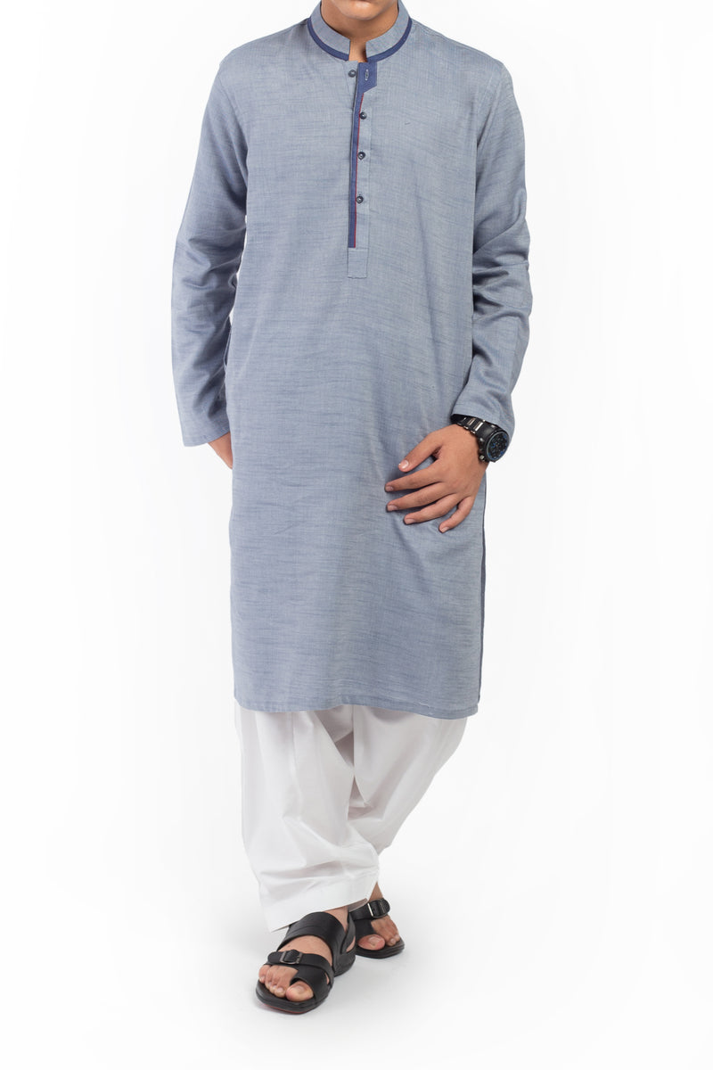 Greek Blue Kurta BK-39526