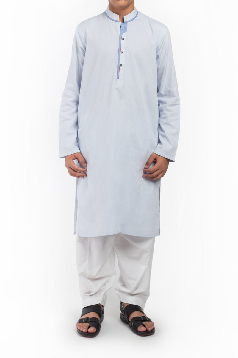Light Blue Kurta BK-39528
