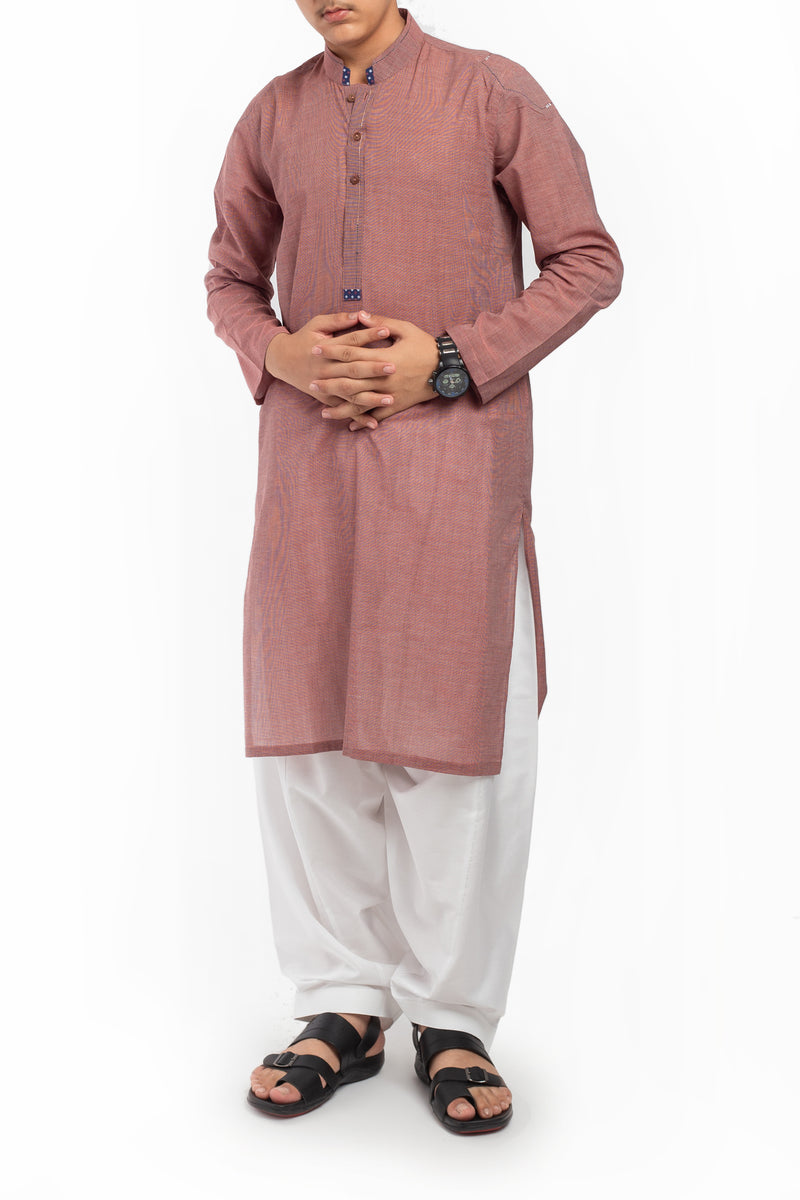 Turkish Red Kurta BK-39605